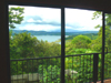 Among the great lake views from the home is this one from the master bedroom.