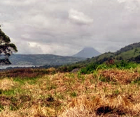 The 2 lots have fine views of the lake and Arenal Volcano.